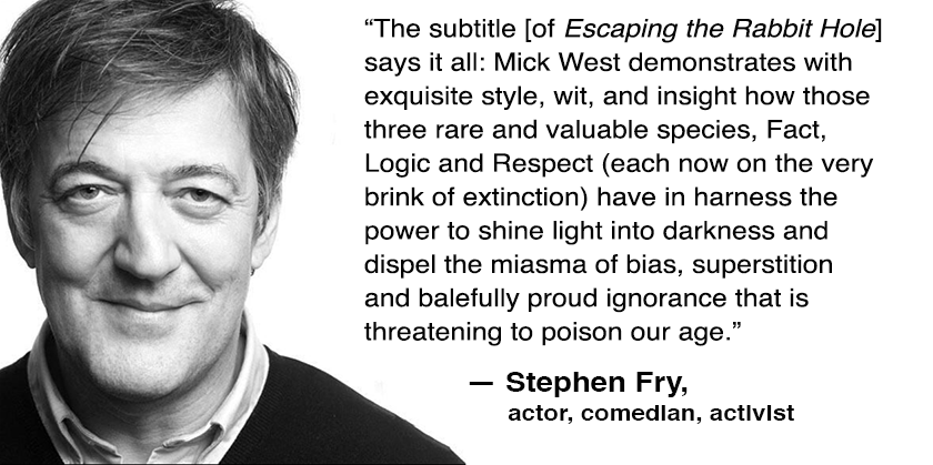 Stephen Fry Comment